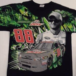 Dale Earnhardt Jr NASCAR Chase 2012 Tshirt